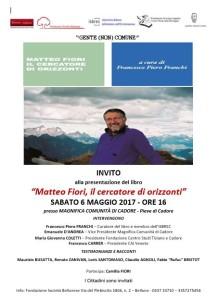 Matteo Fiori Pieve cadore 6.5.2017